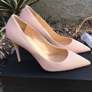 Giuseppe Zanotti light pink high heel pumps